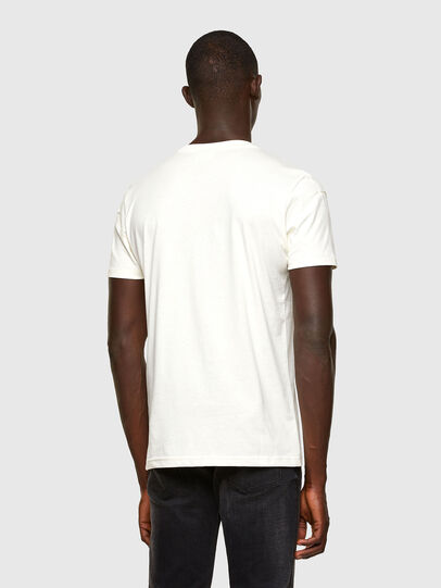 Diesel - T-DORYMO-A1, Blanc - T-Shirts - Image 2