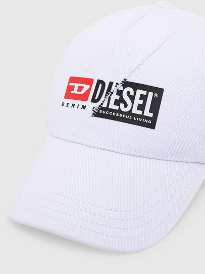 Diesel - CAP-CUTY, Blanc - Chapeaux - Image 3