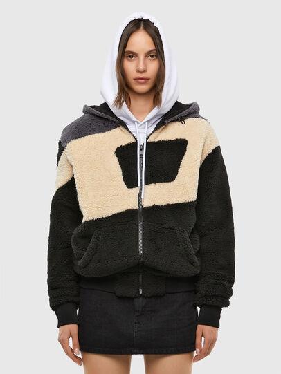 Diesel - S-ALDY, White/Black - Sweatshirts - Image 2