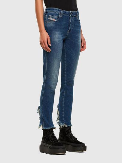Diesel - Babhila-Zip 009EZ, Bleu moyen - Jeans - Image 5