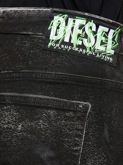 Diesel - Fayza 009DL, Noir/Gris foncé - Jeans - Image 4