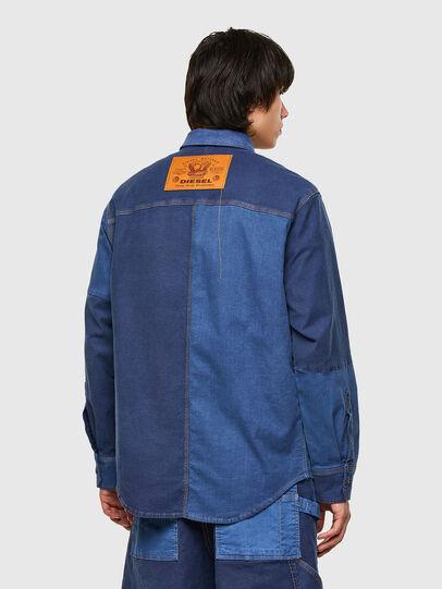 Diesel - D-CORUS-SP JOGGJEANS, Blue - Denim Shirts - Image 2