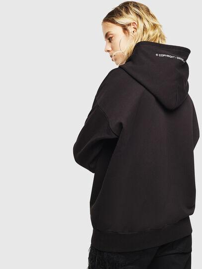 Diesel - S-ALBY-COPY-J1, Black - Sweatshirts - Image 4