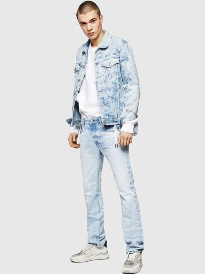 Diesel - D-Ligenz 0078C, Bleu Clair - Jeans - Image 6