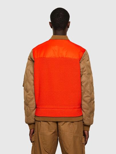 Diesel - K-OHIO, Marron/Orange - Vestes - Image 2