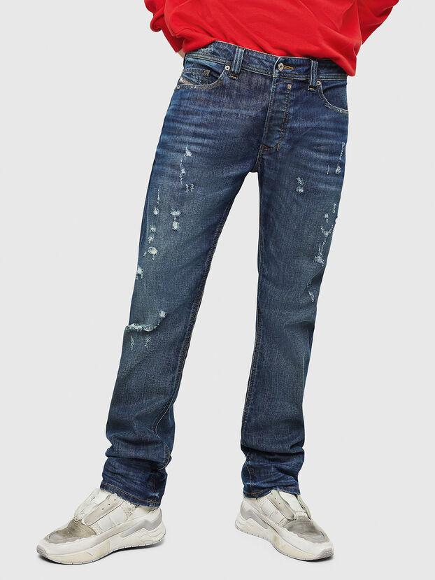 Safado CN028, Bleu Foncé - Jeans