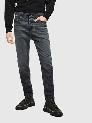 D-Vider JoggJeans 069MD, Bleu Foncé - Jeans