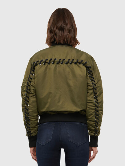 Diesel - W-SWING, Military Green - Winter Jackets - Image 2