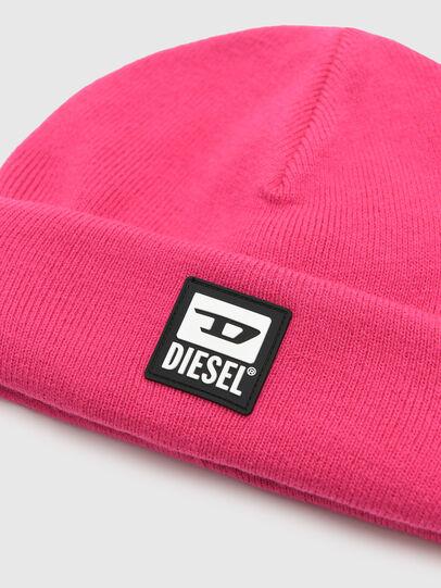 Diesel - K-XAU, Pink - Knit caps - Image 3