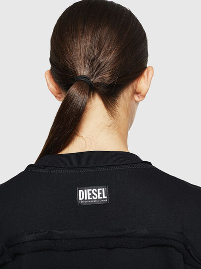 Diesel - F-LYANY-H, Noir - Pull Cotton - Image 5