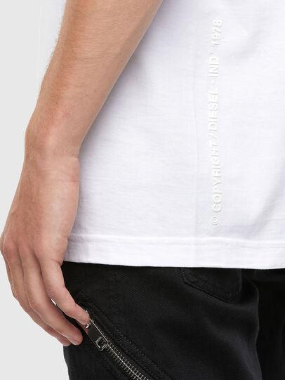 Diesel - T-TUBOLAR-N4, Blanc - T-Shirts - Image 4