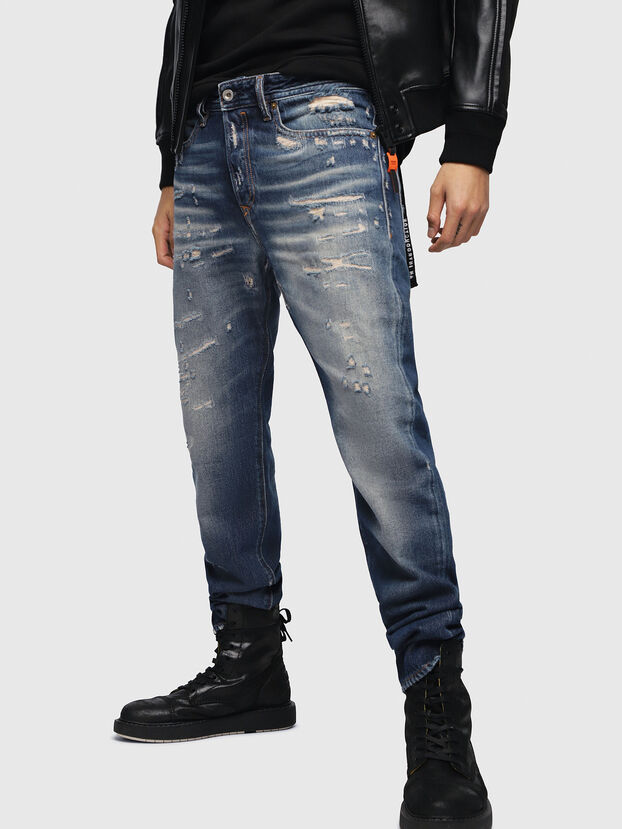 Buster 088AQ, Dark Blue - Jeans