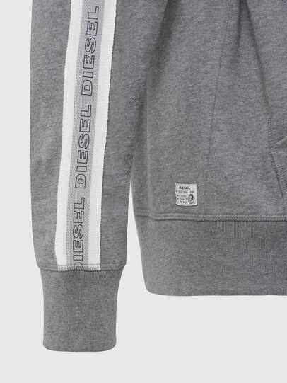 Diesel - UMLT-BRANDON-Z, Light Grey - Sweatshirts - Image 3
