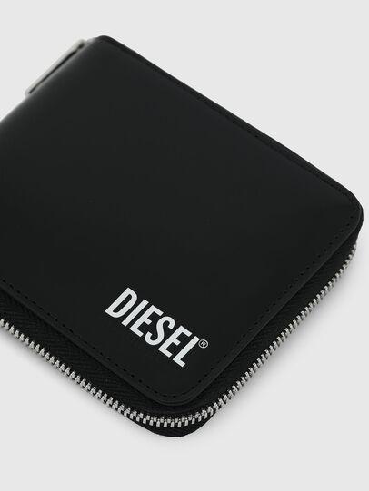 Diesel - HIRESH XS ZIPPI, Noir - Portefeuilles Zippés - Image 4