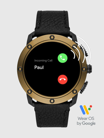 Diesel - DT2016, Black/Gold - Smartwatches - Image 7