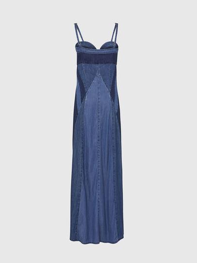 Diesel - DE-ARYNA, Bleu Clair - Robes - Image 2