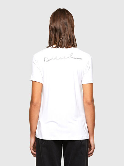 Diesel - T-SILY-R1, Blanc - T-Shirts - Image 2