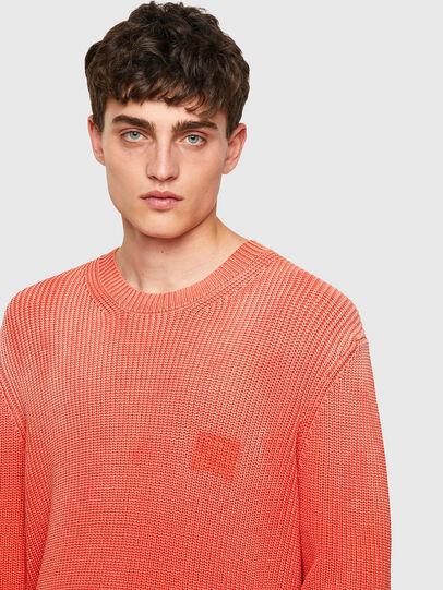 Diesel - K-KENTUCKY, Orange - Sweaters - Image 3