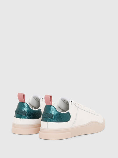 Diesel - S-CLEVER LOW LACE W, Blanc/Vert - Baskets - Image 3