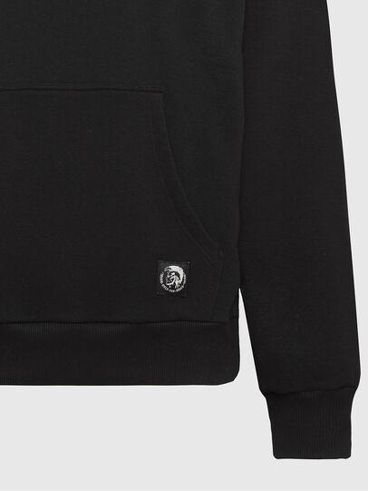 Diesel - S-GIRK-HOOD-MOHI, Black - Sweatshirts - Image 3
