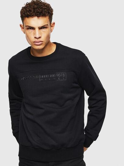 Diesel - S-CORY, Noir - Pull Cotton - Image 1