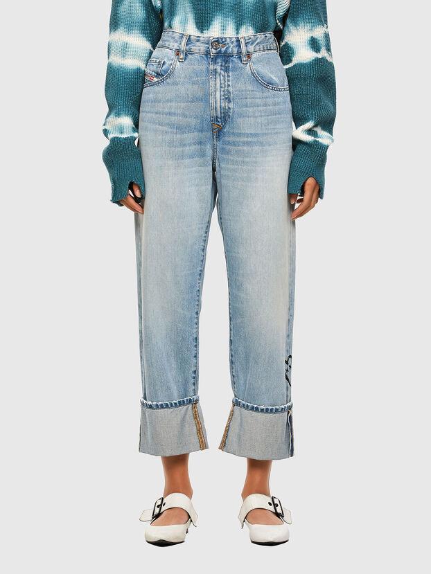 D-Reggy 009GZ, Bleu Clair - Jeans