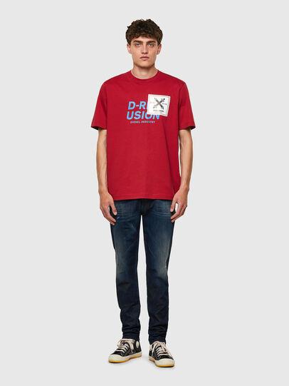 Diesel - T-JUST-B62, Marron - T-Shirts - Image 5