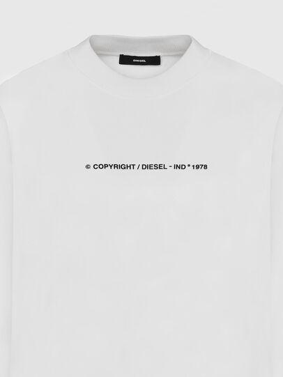 Diesel - S-BIAY-COPY, White - Sweatshirts - Image 3