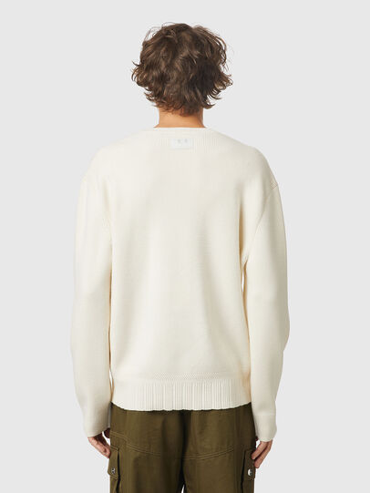Diesel - K-ATHENS, White - Sweaters - Image 2