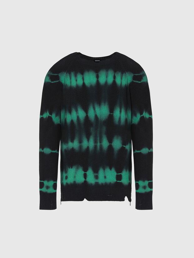 K-TONI, Black/Green - Sweaters