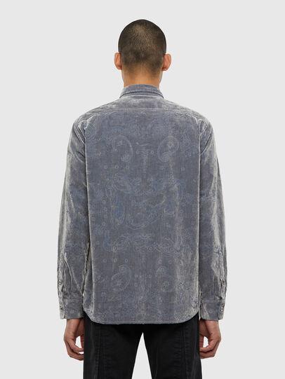 Diesel - D-RONNY, Grey - Denim Shirts - Image 2