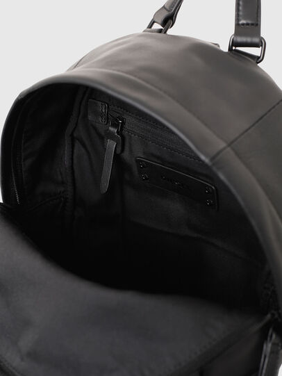 Diesel - LE-ZIPPER BACKPACK, Noir - Sacs à dos - Image 6