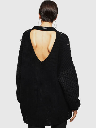 Diesel - MEBLY, Noir - Pull Maille - Image 2