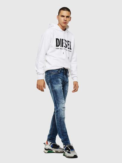 Diesel - Thommer JoggJeans 0685I, Medium Blue - Jeans - Image 5