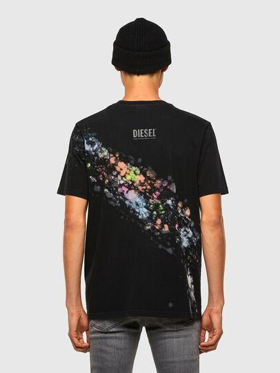 Diesel - T-JUST-A40, Noir - T-Shirts - Image 2