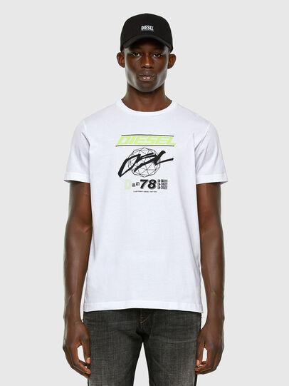 Diesel - T-DIEGOS-K34, Blanc - T-Shirts - Image 4