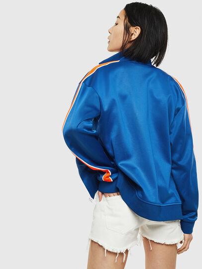 Diesel - S-CORTESS, Blue - Sweatshirts - Image 4