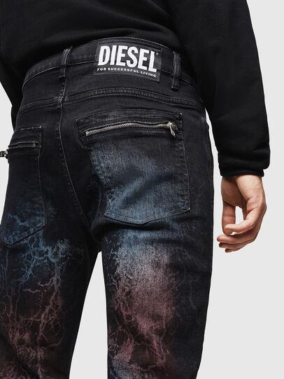 Diesel - D-Amny 0093D, Noir/Gris foncé - Jeans - Image 5