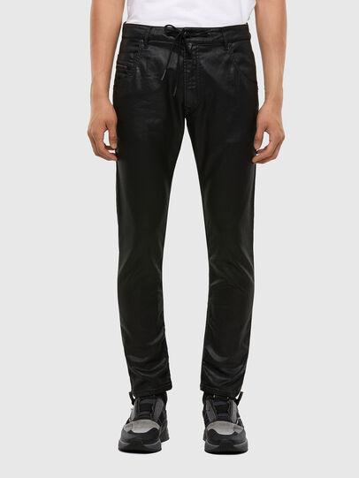 Diesel - Krooley JoggJeans 0849R, Noir/Gris foncé - Jeans - Image 1