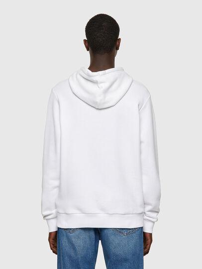 Diesel - S-GIRK-HOOD-B1, Blanc - Pull Cotton - Image 2