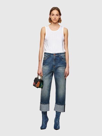 Diesel - D-Reggy 009UA, Bleu Foncé - Jeans - Image 5