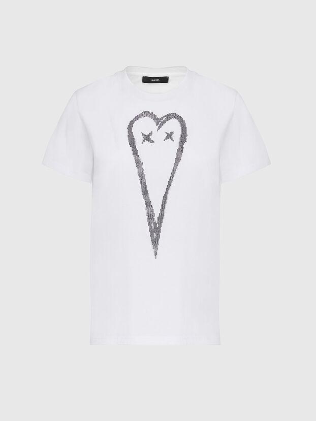 T-SILY-E53, Blanc - T-Shirts