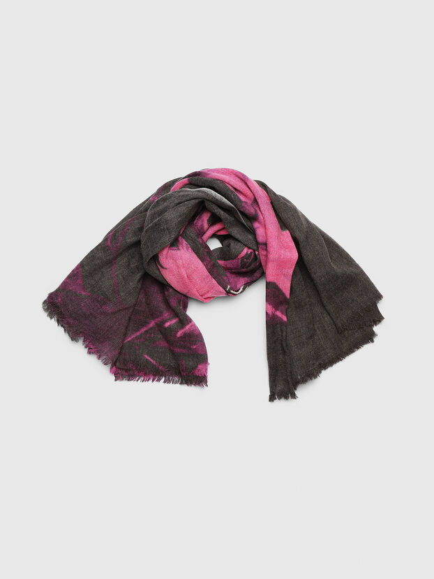 SFLAB, Black/Pink - Scarves