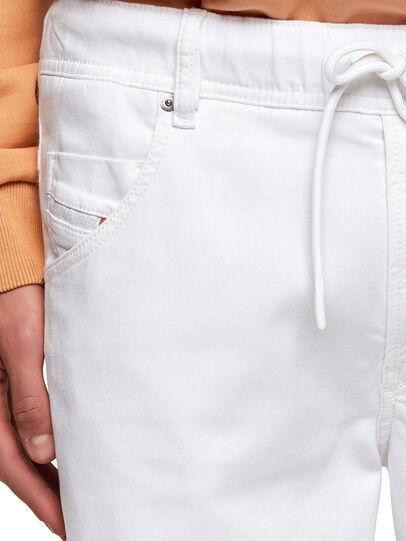 Diesel - D-KROOSHORT JOGGJEANS, Blanc - Shorts - Image 3