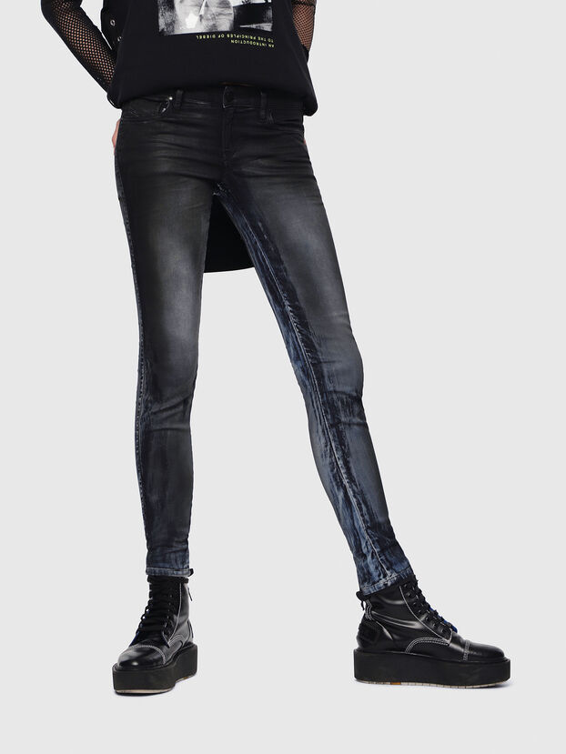 Gracey JoggJeans 086AZ, Bleu Foncé - Jeans
