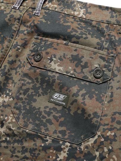 Diesel - D-ONT-HURT-ME, Green Camouflage - Pants - Image 5