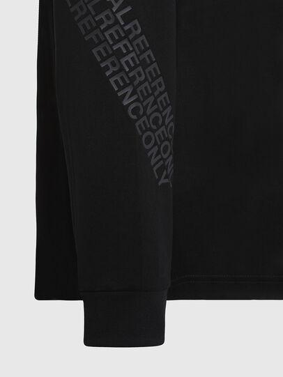 Diesel - T-JUST-LS-X91, Noir - T-Shirts - Image 5