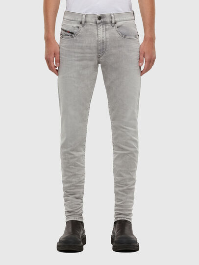 Diesel - D-Strukt 069RE, Light Grey - Jeans - Image 1