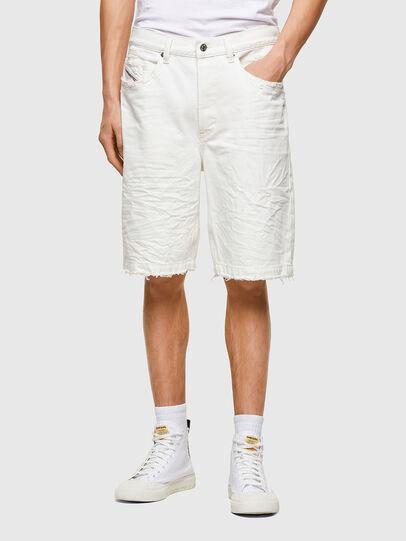 Diesel - D-MACS-SHORT, Blanc - Shorts - Image 1