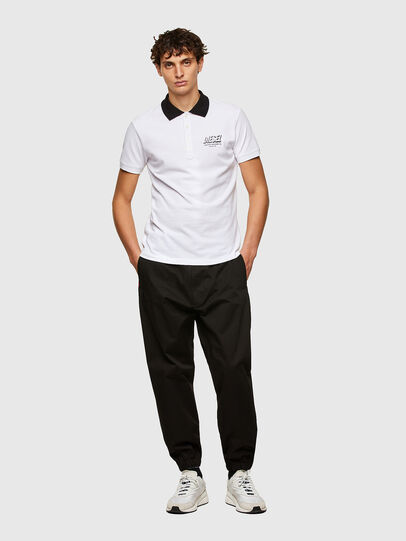 Diesel - T-RANDY-NEW-A1, Blanc - Polos - Image 4